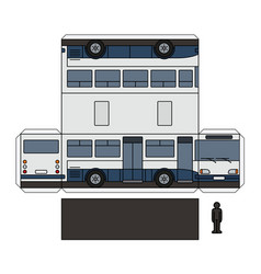 The simple paper model of a small bus vector