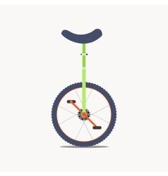 Unicycle icon vector image