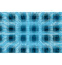 Blue pop art retro comic book halftone background vector image