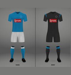 Football kit 2018-19 shirt template vector