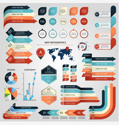infographic graphic business diagram chart banner vector image