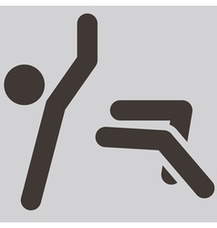 Parkour icon vector