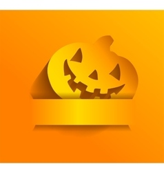 Sticker for Halloween vector