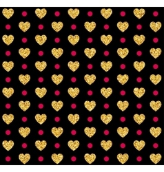 Valentines day seamless pattern background vector image vector image