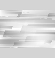 Abstract geometric white and gray color vector