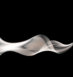 Abstract grey wave modern background futuristic vector