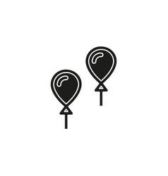 balloons - birthday vector image
