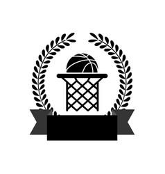 basketball sport game vector image