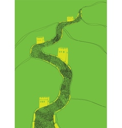 China Great Wall vector