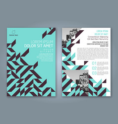 Cover annual report 831 vector