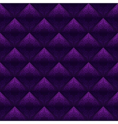 Decorated Tiles Seamless Background vector image