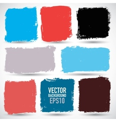 Grunge colorful backgrounds vector image
