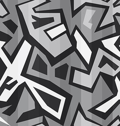 monochrome graffiti seamless vector image