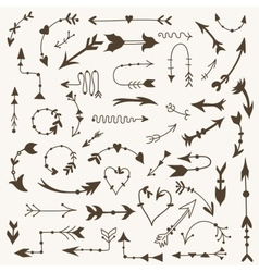 Tribal Arrow Signs vector image