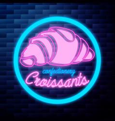 vintage confectionery emblem vector image