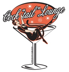 Cocktail lounge vector image vector image