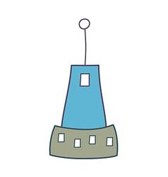 A building vector image