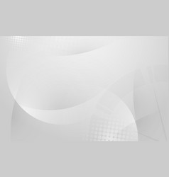 abstract white and grey modern geometric shape vector image