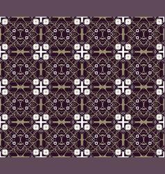 Arabic seamless ornament pattern ornamental vector