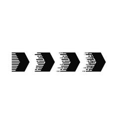 arrows icon abstract arrow arrow on a isolated vector image