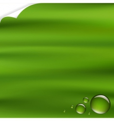 background with drops vector image