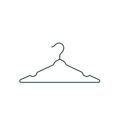 cloth hanger icon design template isolated vector image
