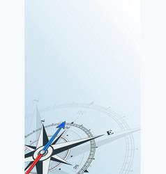 Compass northeast background vector
