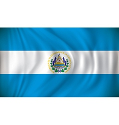 Flag of El Salvador vector