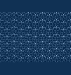 flower pattern seamless wallpaper vector image