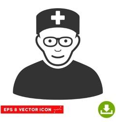 Medical specialist eps icon vector