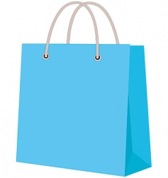 paper carrier bag vector image