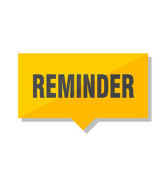 reminder price tag vector image