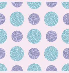 Spotty circular repeat pattern vector