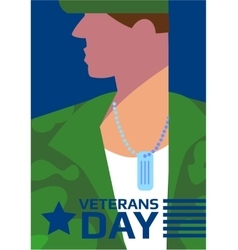Veterans Day concept vector
