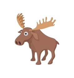 Deer icon cartoon style vector image vector image