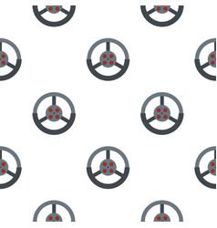 Steering wheel pattern seamless vector