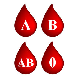 Blood drop with group sign symbol icon design vector