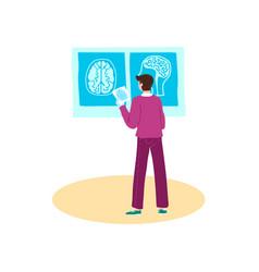 brain disease treatment stroke and headache vector image