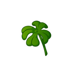 Clover quatrefoil cartoon vector