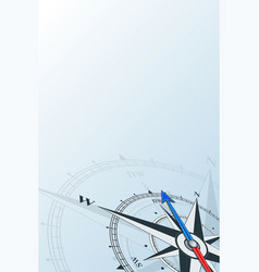 Compass northwest background vector