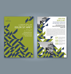 Cover annual report 838 vector