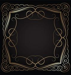 decorative border 0601 vector image