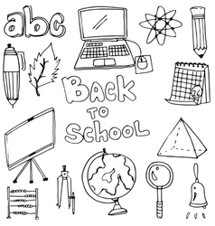 Element education doodles vector