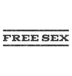 Free Sex Watermark Stamp vector