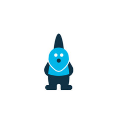gnome icon colored symbol premium quality vector image
