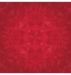 Ruby Red Triangles Crystal Foil Texture vector