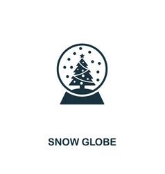 snow globe icon premium style design from vector image