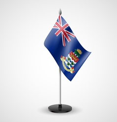 Table flag of Cayman Islands vector