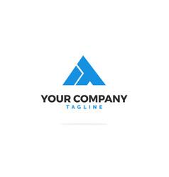 Blue it logo vector