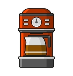 Coffee Machine Icon vector image